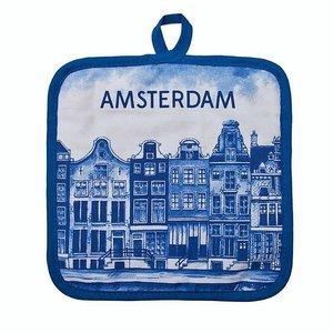 Typisch Hollands Pfannkuchen Delfter Blau - Amsterdam