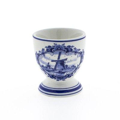 Typisch Hollands Delfter Blau Eierbecher - Mühle