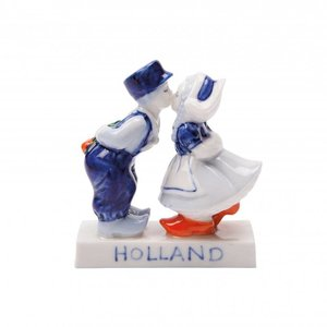 Typisch Hollands Kuspaar Holland 8 cm - Kisses from Holland