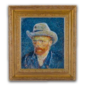 Typisch Hollands Magneet polystone Zelfportret - Vincent van Gogh