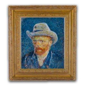 Typisch Hollands Magnet Polystone Selbstporträt - Vincent van Gogh