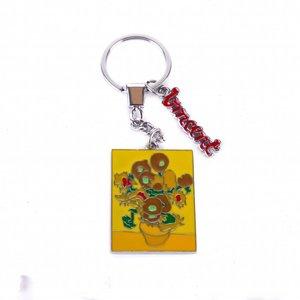 Typisch Hollands Keychain Sunflowers - Vincent van Gogh