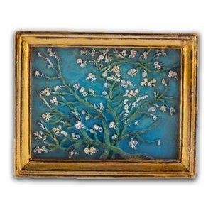 Typisch Hollands Magnet - Mini painting - Almond blossom - Vincent van Gogh