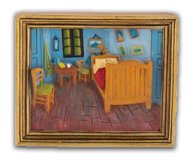 Magneet Slaapkamer - Vincent van Gogh - Typisch Hollands- museale ...