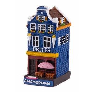 Typisch Hollands Gevelhuisje Frites shop Amsterdam