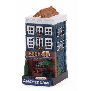 Typisch Hollands Gevelhuisje Beer shop Amsterdam
