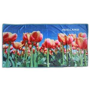 Typisch Hollands Bath towel Tulips