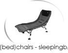 chairs - bedchairs - sleepingbags