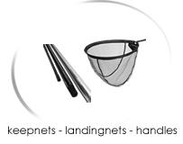 keepnets - landingnets - handles