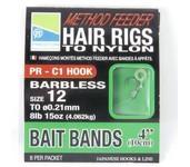 preston method feeder hair rig - bait band