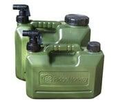 ridgemonkey hdpe heavy duty water carriers - jerrycan