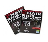 preston pr36 hair rigs with bait bands (barbless)