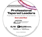 cinnetic professional tapered leaders