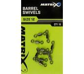 matrix fishing barrel swivels