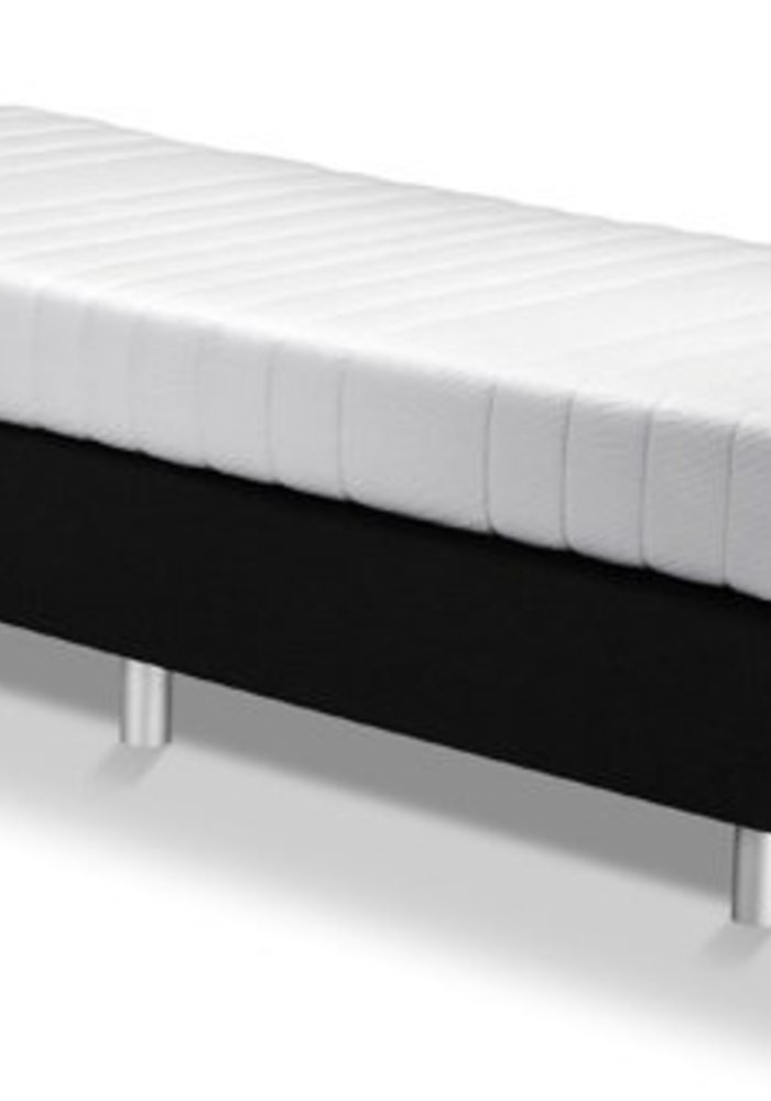 1-Persoons Boxspring vlak 90x200