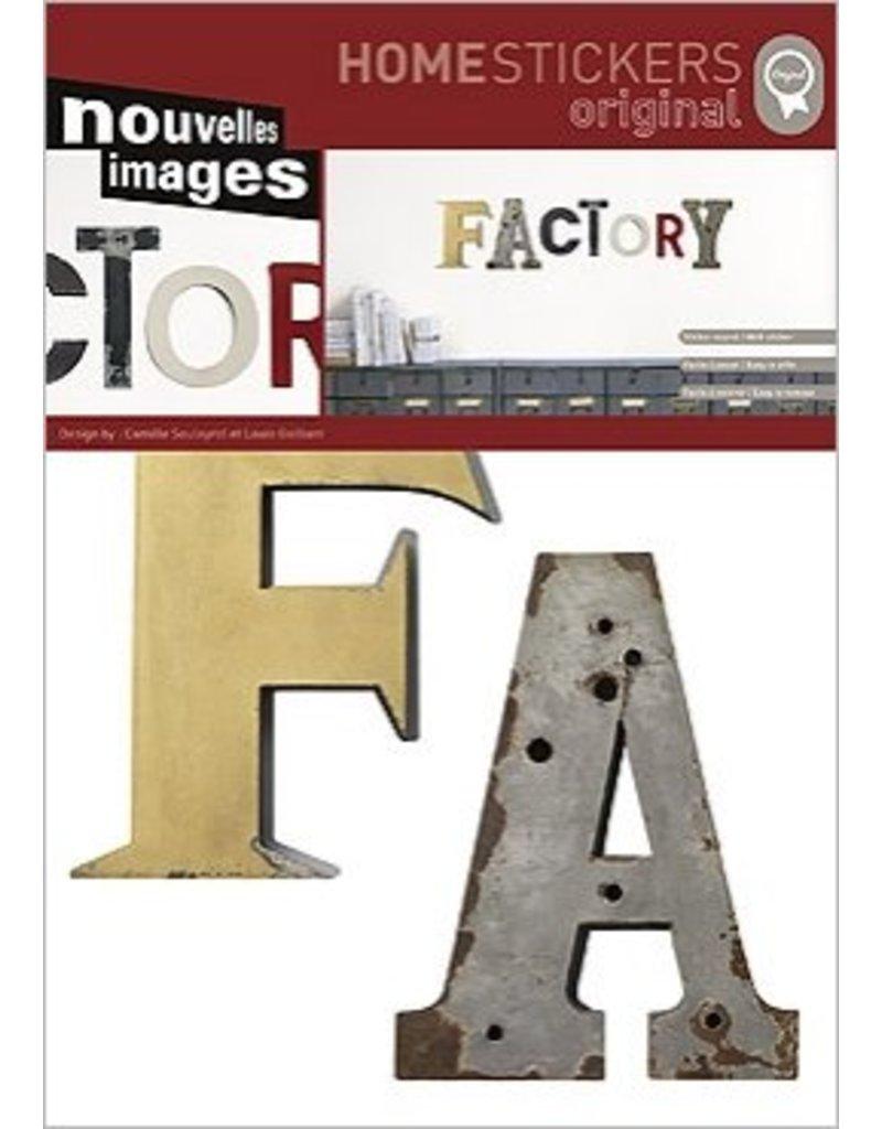 Nouvelles images muursticker factory kado in huis - Nouvelles images stickers ...