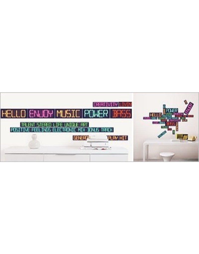 nouvelles images wall sticker digital kado in huis height wall chart stickers nouvelles images caravan