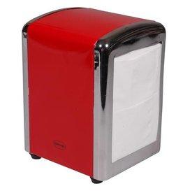 Cabanaz Servetten Dispenser Scarlet Red