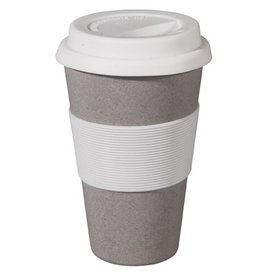 Zuperzozial Reise-Becher Cruising Travel Mug Stone Grey