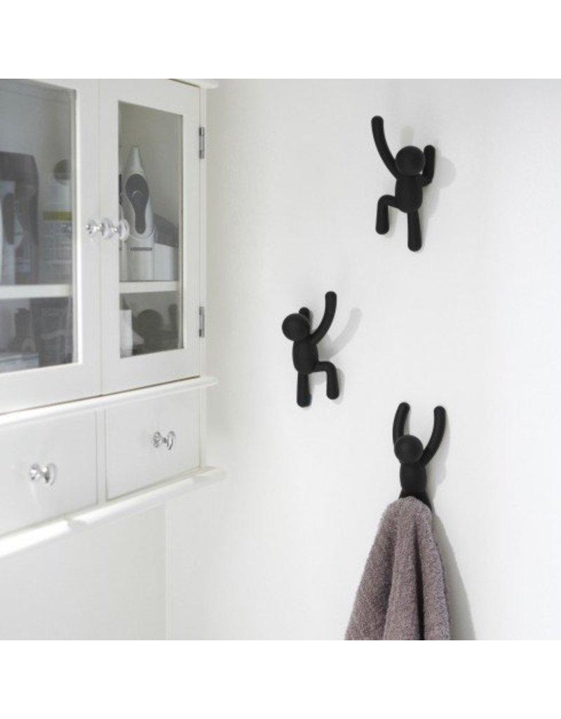 umbra wandhaken buddy kado in huis. Black Bedroom Furniture Sets. Home Design Ideas