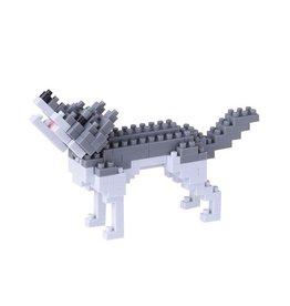 Nano Blocks Bouwpakket Grijze Wolf