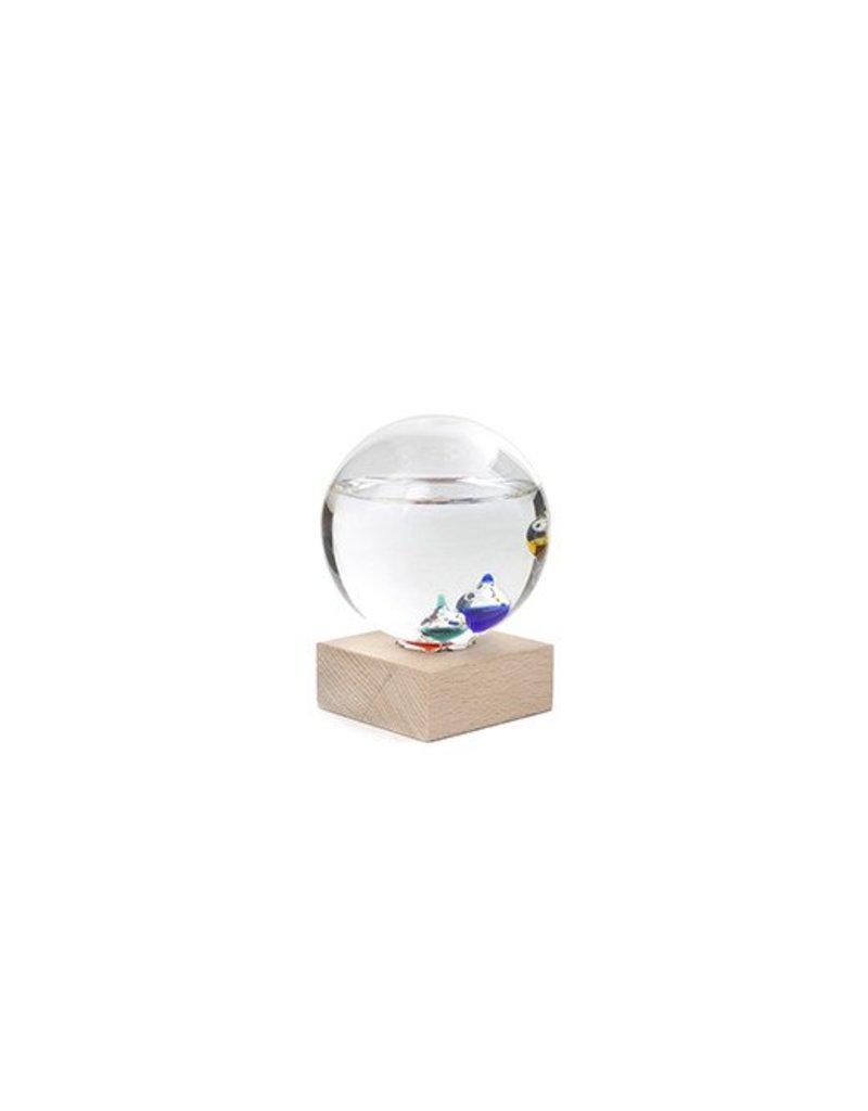 Kikkerland Galileo Thermometer