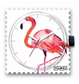 Stamps Uhr Pink Feathers