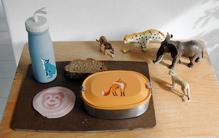 The Zoo Lunchbox Fox