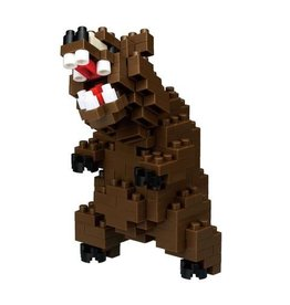 Nano Blocks Bouwpakket Grizzly Beer