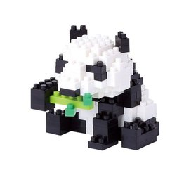 Nano Blocks Bausatz Panda