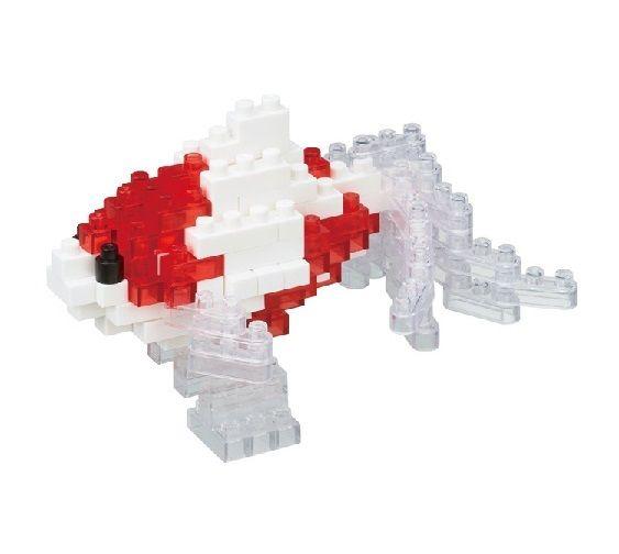 Nano Blocks Bouwpakket Wakin Goudvis Red