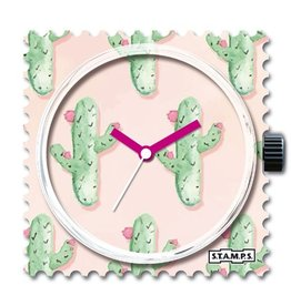 Stamps Uhr Cactus Party