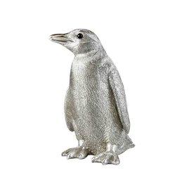 &Klevering Spaarpot Pinguin Zilver