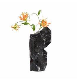Pepe Heykoop Papieren Vaas Cover Marble Black Large