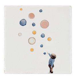 Storytiles Dekorative Fliese Blasen fangen Small