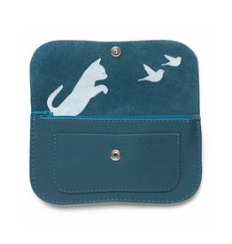 Keecie Portemonnee Cat Chase Medium Faded Blue