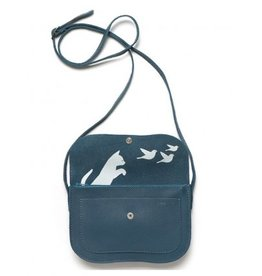 Keecie Tas Cat Chase Bag  Faded Blue