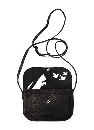Keecie Tas Cat Chase Bag  Black