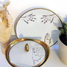 Nuukk Porzellan-Aufkleber Hands