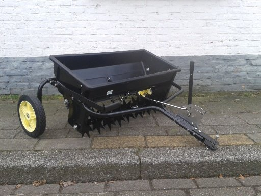 grasmaaier verticuteermachine
