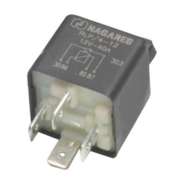 12 volt 40 ampere 4 aansluitingen relais voor stiga. Black Bedroom Furniture Sets. Home Design Ideas
