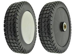 Plastic Wiel Ø 180 mm met Stalen Lager voor Honda Grasmaaier - Benzinemaaier - Cirkelmaaier - Loopmaaier