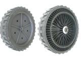 AS Motor Kunststof Wiel Ø 270 mm met Stalen Lager voor Ruwterreinmaaier - Grasmaaier - Cirkelmaaier - Benzinemaaier- Loopmaaier