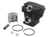 Cilinderset Stihl 024 en MS240, Kettingzaag - Motorzaag, Cilinder met Zuiger en Veren Compleet