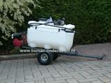 Getrokken Sproeier - 99 Liter - 210 Cm Werkbreedte, Sproeiwagen, Drukspuit, Gifspuit Achter Zitmaaier - Frontmaaier - Tuintrekker - Quad