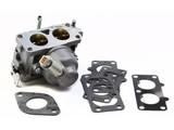 Carburateur voor Briggs & Stratton 2 Cilinder motor op Zitmaaier, Frontmaaier, Trekker,Briggs and Stratton Carburator