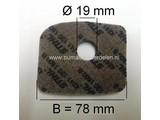 Luchtfilter STIHL BG56 - BG56C - BG66 - BG66C - BG86 - BG86C - SH86 - SH86C, Bladblazer - Blad Blazer / Zuiger Combinatie