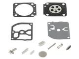 Membraan Reparatie set voor Zama Carburateur op Makita Kettingzaag, Bosmaaier, Bladblazer, Strimmer en Heggenschaar Echo PB4600, PB6000, C1Q