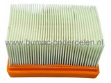 Luchtfilter DOLMAR - MAKITA - WACKER Doorslijpers, PC6412 - PC6414 - PC7312 - PC7314 - PC7412 - PC7414 - PC8116 - DPC6430 - DPC6431 - DPC6440 - DPC6441 - DPC7330 - DPC7331 - DPC7340 - DPC7341 - DPC8131 - DPC8132 - EK7301, Motorslijper - Bandenzaag