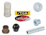 Stiga - CastelGarden - Mountfield - Alpina Bussen en Lagers voor Zitmaaiers - Frontmaaiers en Grasmaaiers